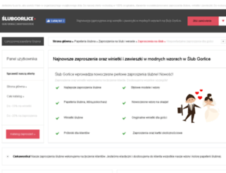 slub.gorlice.pl screenshot