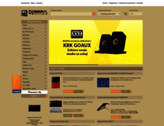 sluchawki.djshop.pl screenshot