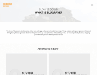 slugrave.co.uk screenshot