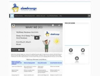 slumbersage.com screenshot