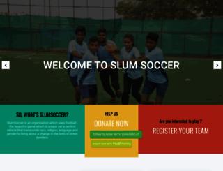slumsoccer.org screenshot