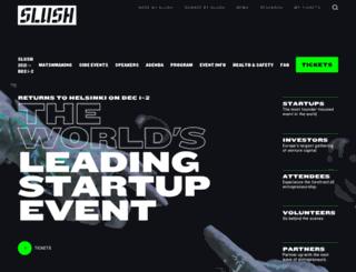 slush.fi screenshot