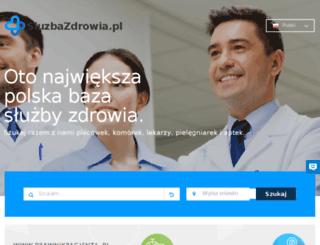 sluzbazdrowia.pl screenshot