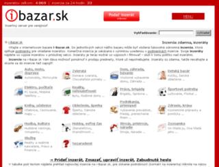 sluzby.i-bazar.sk screenshot