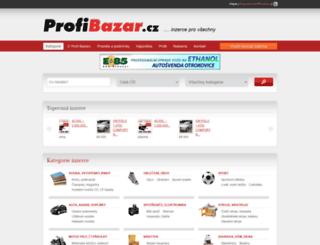 sluzby.profi-bazar.cz screenshot