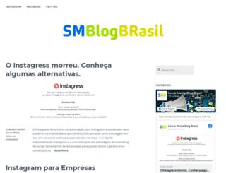 sm.blog.br screenshot