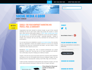 sm4goodness.wordpress.com screenshot
