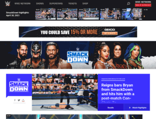smackdown.com screenshot