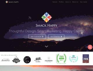 smackhappydesign.com screenshot