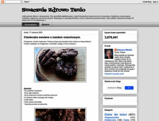 smacznie-zdrowo-tanio.blogspot.se screenshot