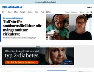 smalandsdagblad.se screenshot