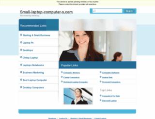 small-laptop-computer-s.com screenshot