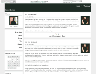 small-magics.dreamwidth.org screenshot