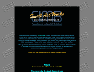 smallartworks.ca screenshot