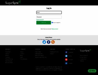 smallaxe.sugarsync.com screenshot