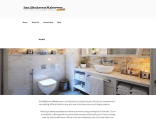 smallbathroommakeovers.com screenshot
