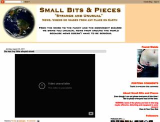 smallbitsandpieces.blogspot.com screenshot
