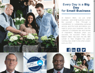 smallbiz.easternbank.com screenshot