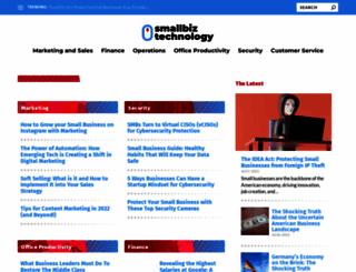 smallbiztechnology.com screenshot