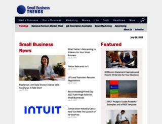 smallbiztrends.com screenshot