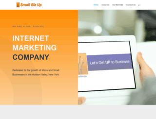 smallbizup.com screenshot