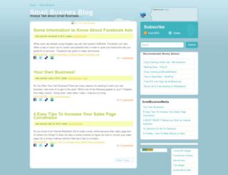 smallbusinesblog.blogspot.com screenshot