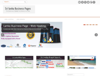 smallbusiness.lankabusinesspage.com screenshot