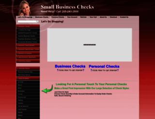 smallbusinesschecks.com screenshot