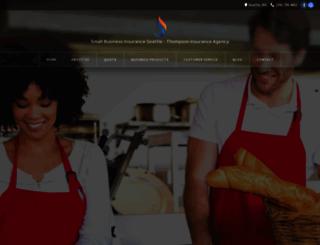 smallbusinessinsuranceseattle.com screenshot