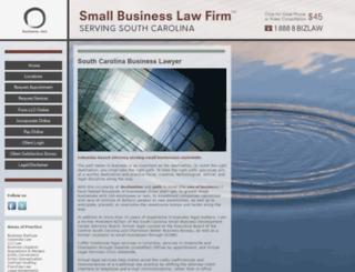 smallbusinesslawfirm.com screenshot