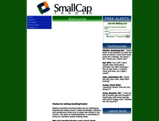 smallcaptrader.com screenshot