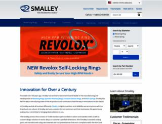smalley.com screenshot