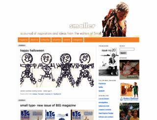 smallmagazine.typepad.com screenshot