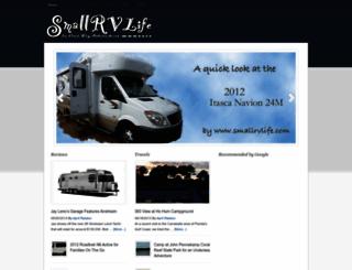 smallrvlife.com screenshot