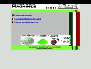smallsoapmachines.com screenshot