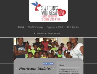 smallthingswithgreatlove.com screenshot