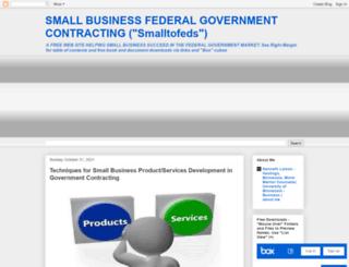 smalltofeds.com screenshot