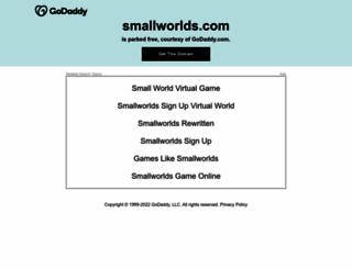 smallworlds.com screenshot