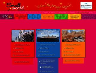 smallworldvacations.com screenshot