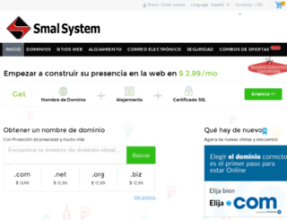 smalsystem.com screenshot