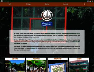 sman110.sch.id screenshot