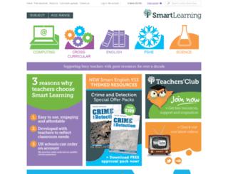 smart-learning.co.uk screenshot