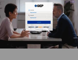 smart.gep.com screenshot