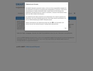smart.uni-bayreuth.de screenshot
