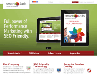smart4ads.com screenshot