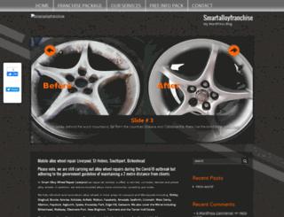 smartalloyfranchise.co.uk screenshot