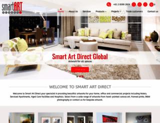 smartartdirect.com screenshot