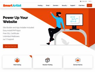smartartist.com.au screenshot
