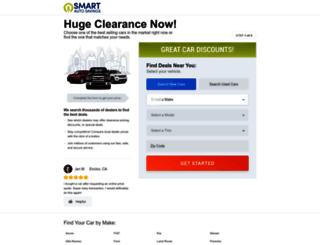 smartautosavings.com screenshot