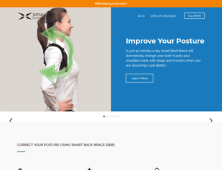smartbackbrace.com screenshot